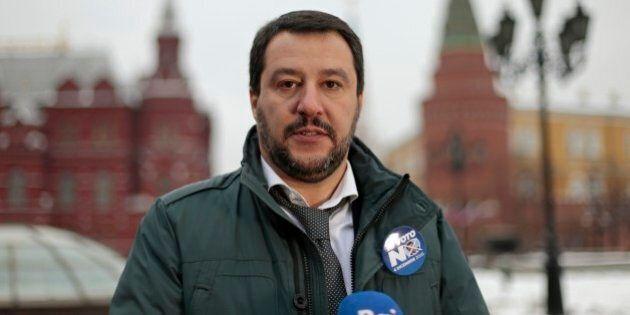 Matteo Salvini a Mosca: