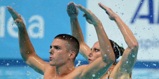 Medaglia d'oro a Budapest per Manila Flamini e Giorgio Minisini nel nuoto sincronizzato con la coreografia...
