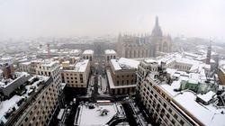 Non è stato un bianco Natale, ma se amate la neve ve la porterà la