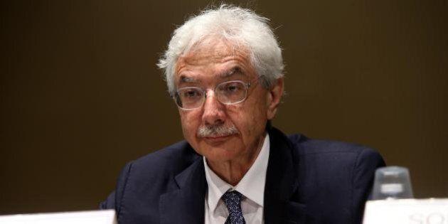 Banche, il direttore generale di Bankitalia Salvatore Rossi:
