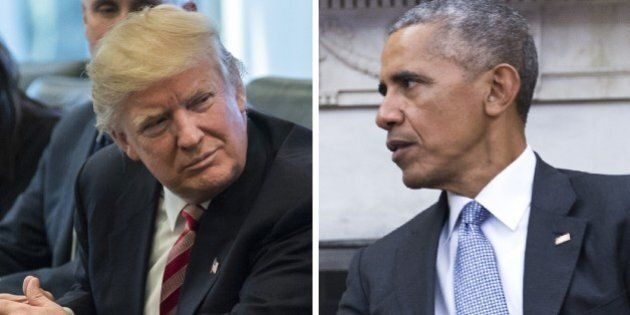 Lo staff di Donald Trump smentisce Barack Obama: