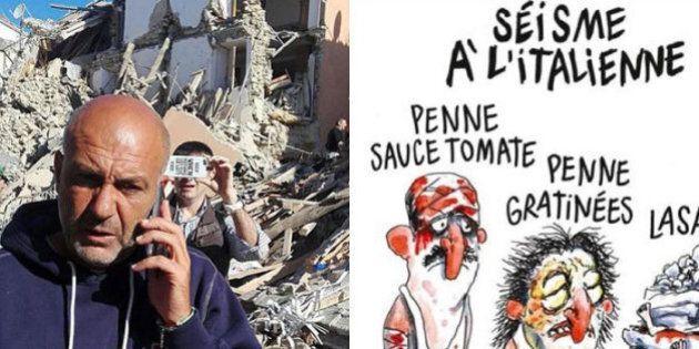 Charlie Hebdo, Sergio Pirozzi sindaco di Amatrice contro la vignetta: