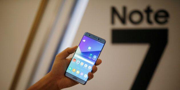 Samsung blocca la produzione del Galaxy Note 7: