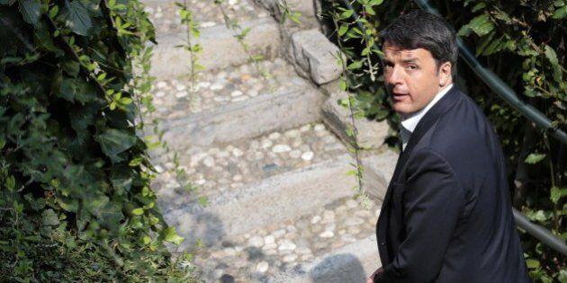 Cernobbio, scintille tra imprenditori e Matteo Renzi sul terremoto.