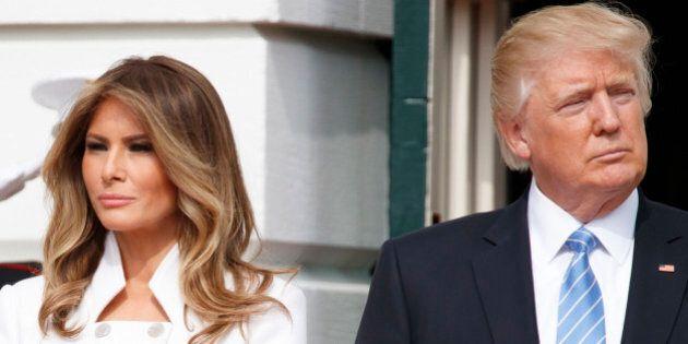 Melania Trump debutta da first lady. La prima volta da padrona di casa alla White House (ricordando il...