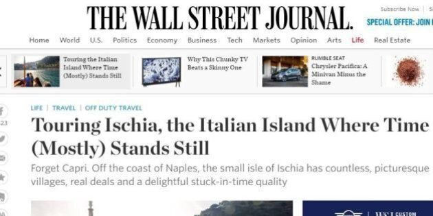 L'isola di Ischia cattura il