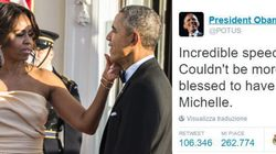 Con questo tweet Obama ci spiega perché ha scelto Michelle come donna della sua