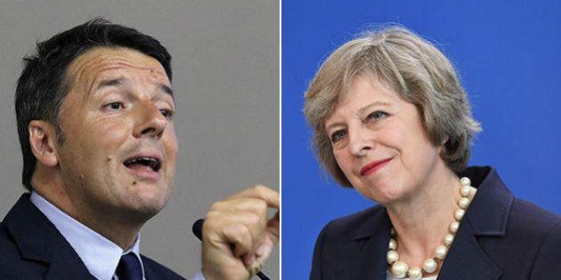 Brexit. Matteo Renzi pronto a incontrare Theresa May: