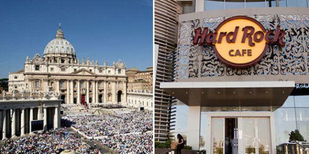 L'Hard Rock Cafe apre davanti a San Pietro, ma il Vaticano protesta: