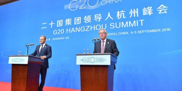 G20, l'appello dei leader europei sui migranti: