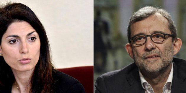 Virginia Raggi e Roberto Giachetti: i cinque impegni per prendersi i voti della