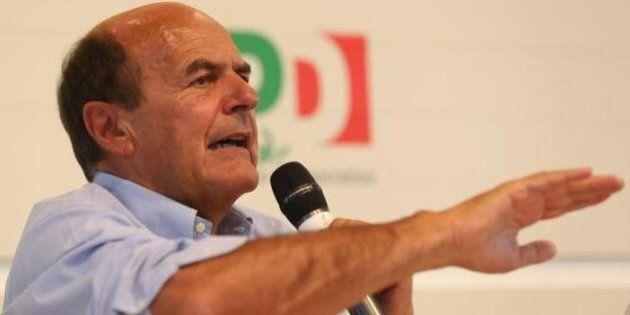 Caro Bersani dovevi fermarti tu. Da un bel po'. Ora la scissione s'ha da