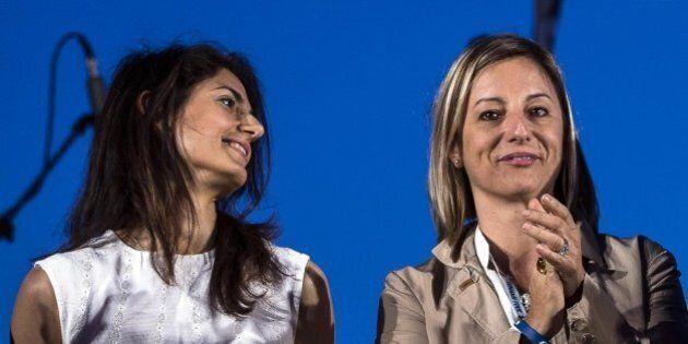 Roberta Lombardi contro il progetto dello stadio dell'As Roma: