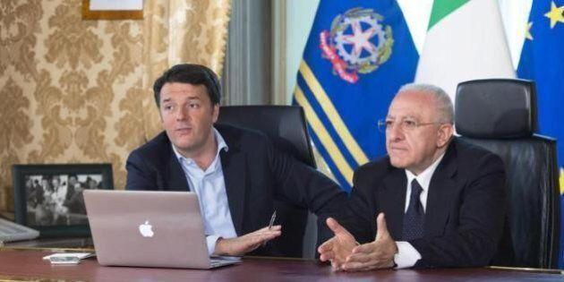 Renzi, De Luca e la repubblica fondata sulla frittura di