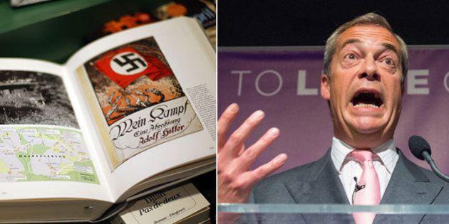 I dem cavalcano Farage e il caso Giornale-Mein Kampf per spingere 5 Stelle e Parisi all'estrema