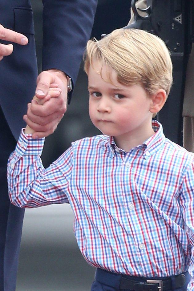 Questo dettaglio sul principe George ha dimostrato che la sua eleganza è