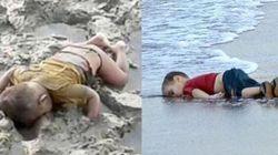 Triste il mondo che ha bisogno della foto di un bimbo a faccia in giù per accorgersi di tragedie