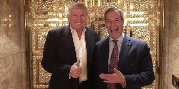 Donald Trump sponsorizza Nigel Farage come ambasciatore negli Usa. Downing Street replica:
