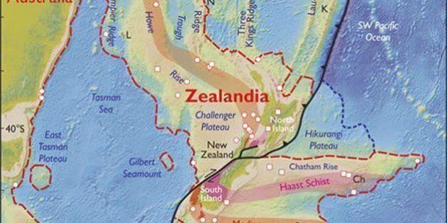 Zealandia, gli scienziati scoprono un nuovo continente vicino alla Nuova Zelanda: è sommerso al
