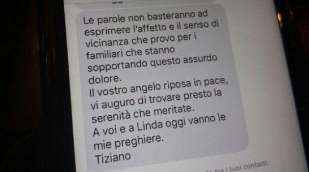 Tiziano Ferro manda un messaggio di cordoglio ai genitori di una bambina morta mentre andava a un suo