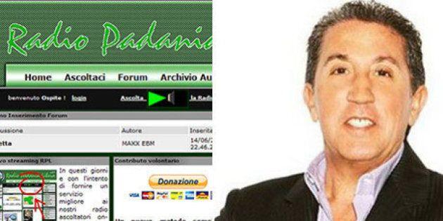 Lega Nord vende Radio Padania a un imprenditore calabrese, Lorenzo Suraci, patron di Rtl. Incasso di...