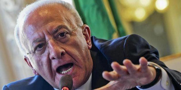 Emendamento De Luca congelato: la commissione Bilancio prende