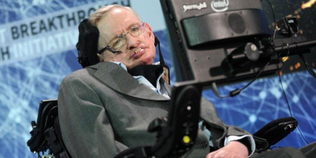 Photo by: Dennis Van Tine/STAR MAX/IPx 4/12/16 Prof. Stephen Hawking and Breakthrough Prize founder announce...