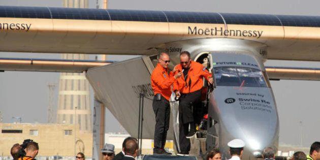 Il valore del giro del mondo dell'aereo Solar