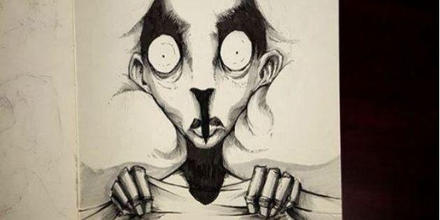 Il disegnatore Shawn Coss illustra la malattia mentale con una serie di vignette per il progetto