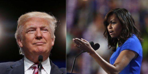 Michelle Obama ha conquistato anche Donald Trump: