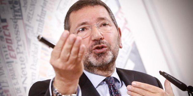 L'ex sindaco di Roma Ignazio Marino presenta il suo
