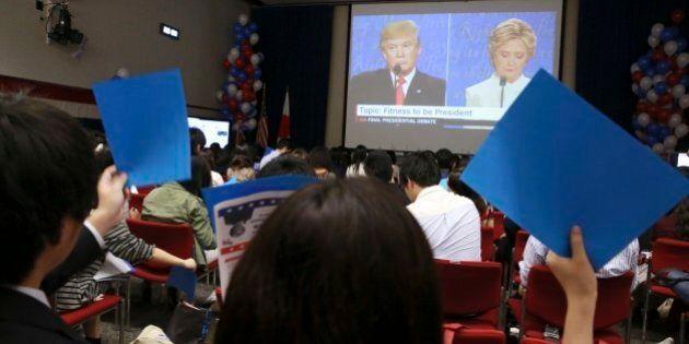 Trump e Clinton candidati che non conquistano gli studenti.