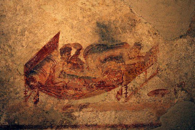 Queste immagini erotiche scoperte a Pompei possono cambiare il rapporto tra cristianesimo e