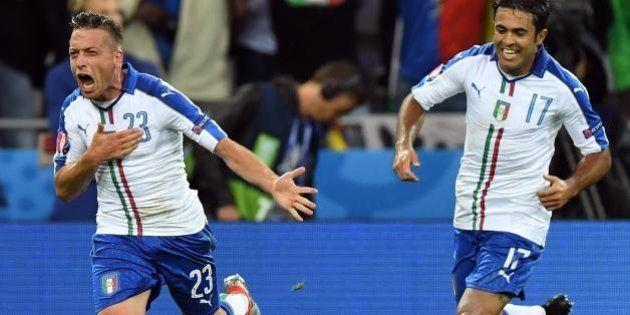 Belgio Italia 0 2: Emanuele Giaccherini e Graziano Pellè stendono i favoriti del girone