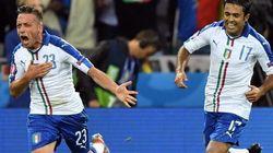 Italia buona la prima: Giaccherini e Pellè stendono il