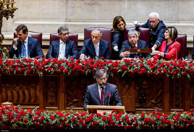The Assembly of the Republic held its 45th anniversary on April