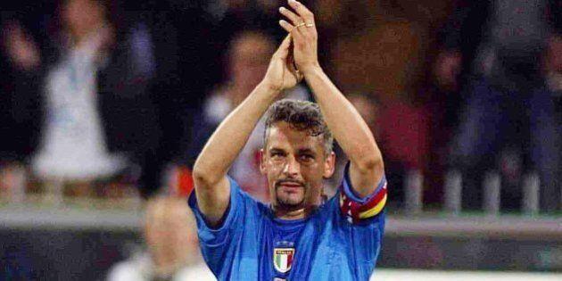 Roberto Baggio festeggia i 50 anni ad Amatrice e Norcia, insieme ai