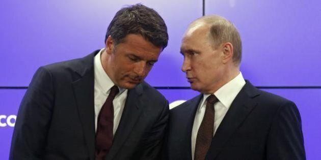 Il Ft svela il ruolo decisivo di Renzi per fermare le sanzioni alla Russia chieste da Germania, Francia...