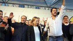 Sondaggio Ipsos per il Corriere della Sera, il centrodestra unito oltre il 35%. Calano Pd e