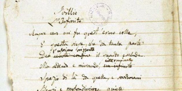 Autografi e manoscritti dei più importanti autori italiani in mostra alla Biblioteca Nazionale di