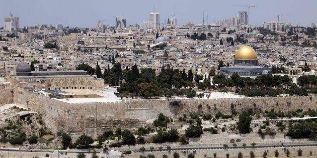 A general view of Al-Aqsa
