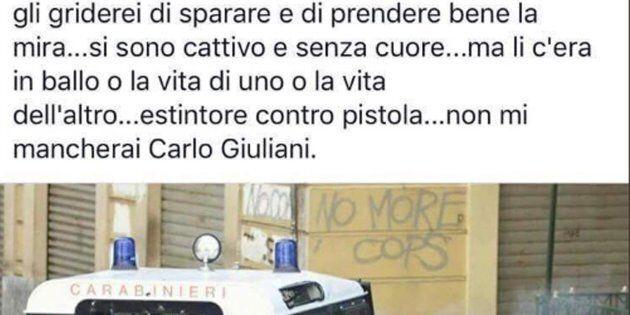 Il post del consigliere Pd di Ancona Diego Urbisaglia sulla morte di Carlo Giuliani, avvenuta durante...