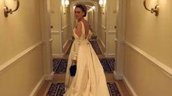 Il vestito di Sarah Jessica Parker ai Golden Globes è un