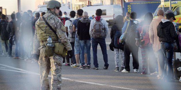 Beremend, confine tra la Croazia e l'Ungheria. Dal 2015 centinaia di migranti hanno attraversato il confine...