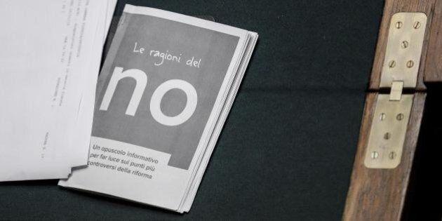 Perché votare No al