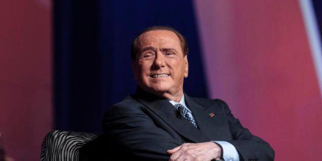 Berlusconi operato, con Forza Italia in fondo al