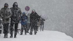 La neve paralizza Istanbul. Turisti italiani bloccati