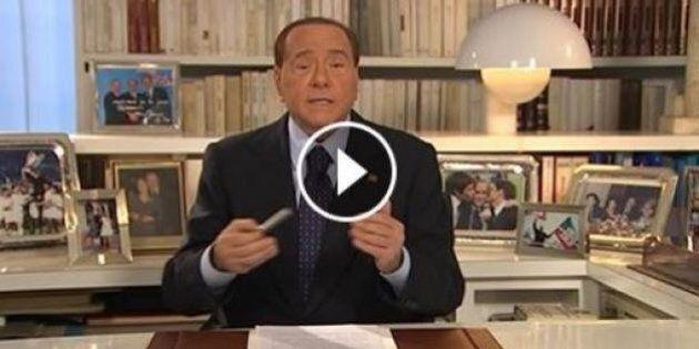 Silvio Berlusconi in video per il No al referendum: