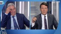 Padellaro attacca, Renzi risponde: