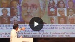 Renzi non gradisce la foto di D'Alema nella copertina Huffpost: